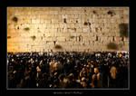 Western wall by menachem-vizel