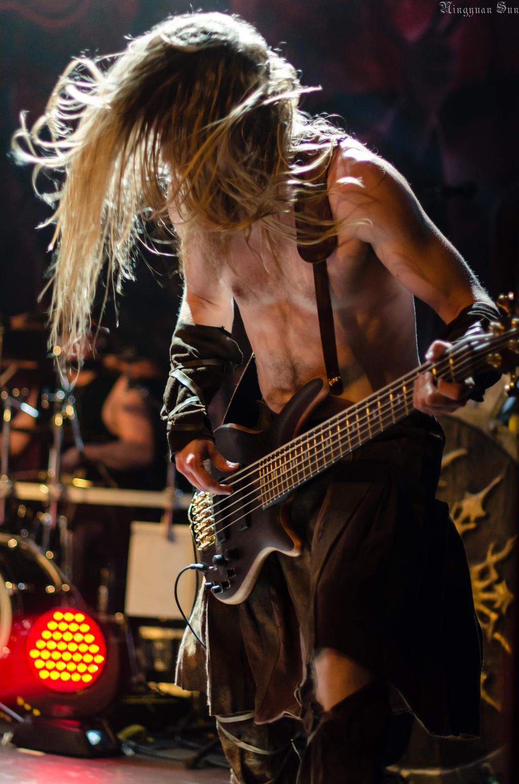 Ensiferum: Sami Hinkka by darkagesun