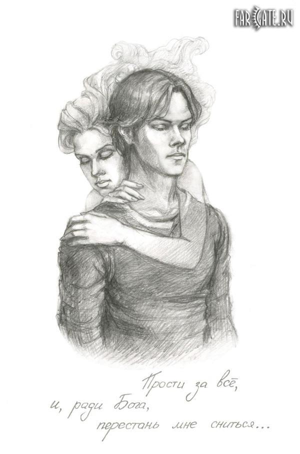 Sam and Jess by elsieHB