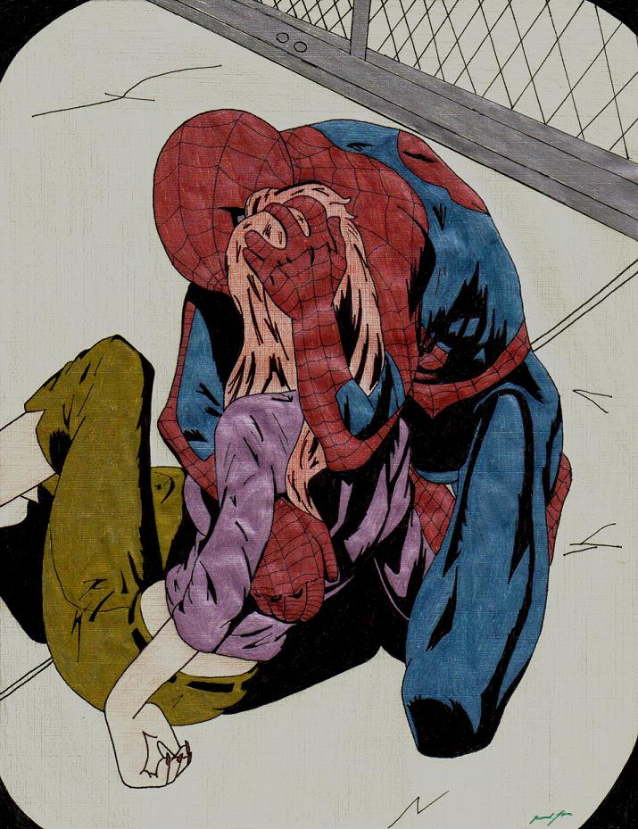 ultimate spider-man  scene