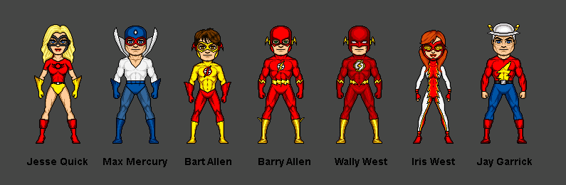 flash family by ciromohre on deviantart