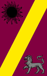 Banner of the Dereginist Cult by terzaerian