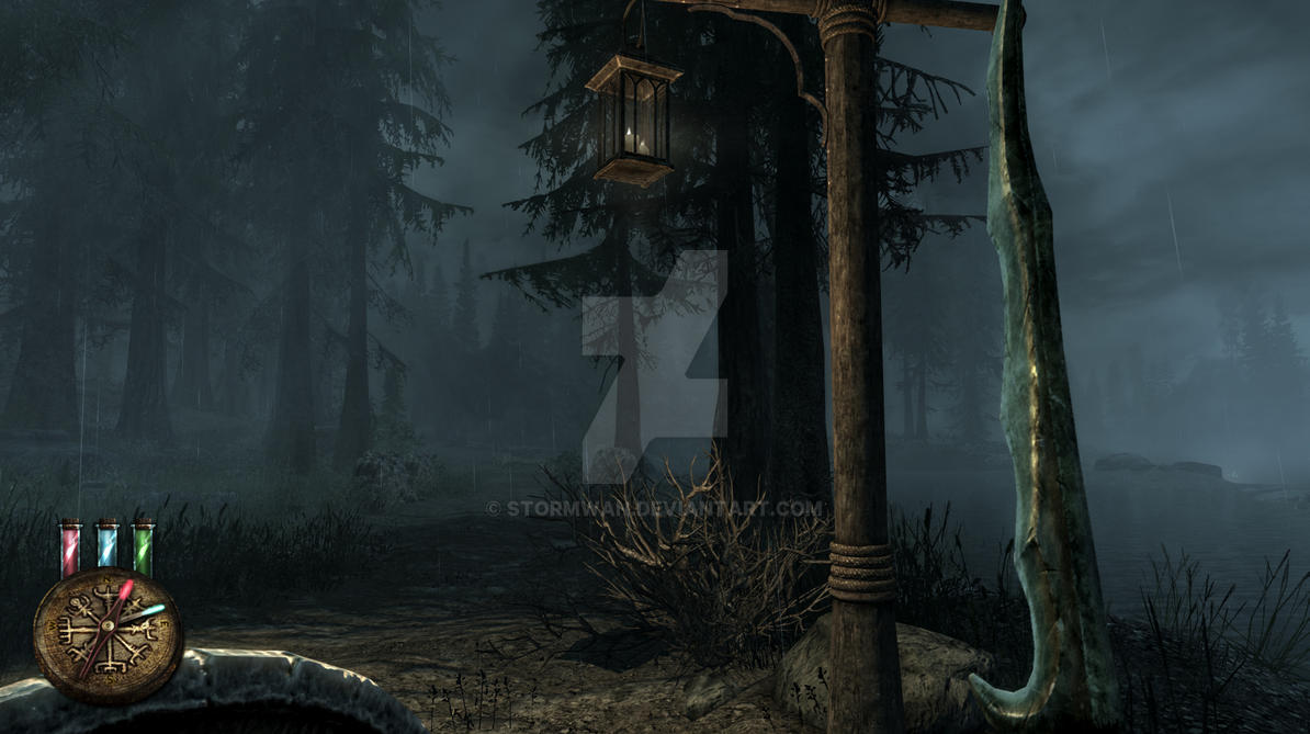 Skyrim HUD Redesign by Stormwan