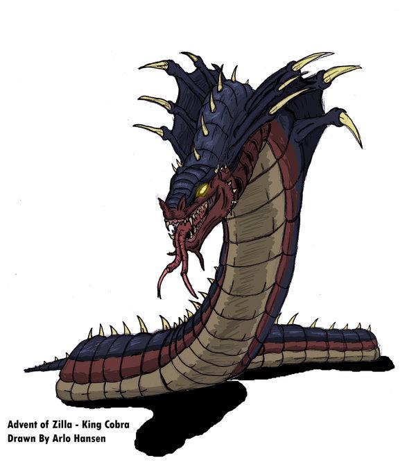 King Cobra by JW-Gojifan