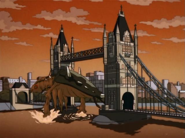 C rex in London by JW-Gojifan