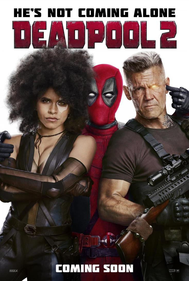 Deadpool 2 poster 003 by JW-Gojifan