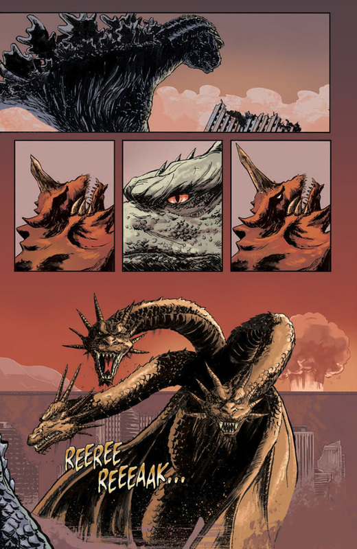 Godzilla in hell by JW-Gojifan