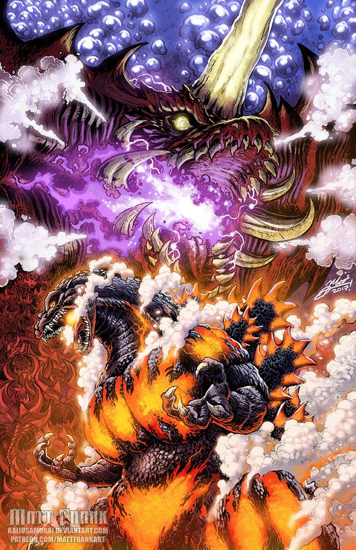 Godzilla vs Destoroyah by JW-Gojifan
