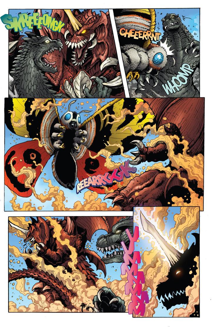 Mothra vs Destoroyah by JW-Gojifan