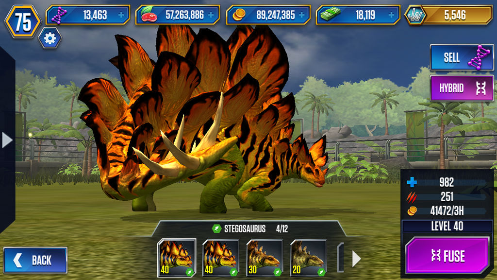 Level 40 Stegosaurus By Jw Gojifan On Deviantart
