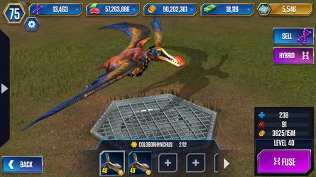 Level 40 Coloborhynchus by JW-Gojifan