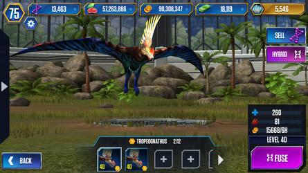 Level 40 Tropeognathus by JW-Gojifan