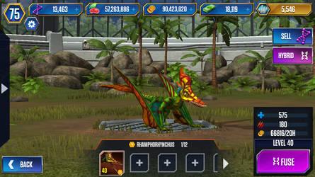 Level 40 Rhamphorynchus by JW-Gojifan