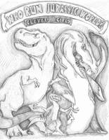 Run the Jurassic World by SoulLostAtSea