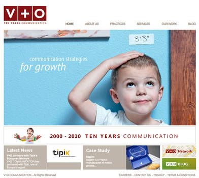 v+O communication by wedia