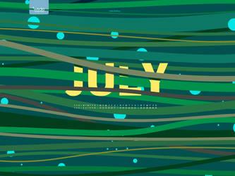 July 2010 wallpaper by wedia