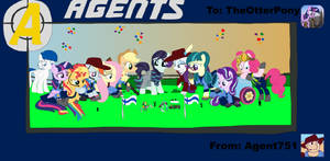 The M9 Agents' Ponified and Oversized B-Day Party