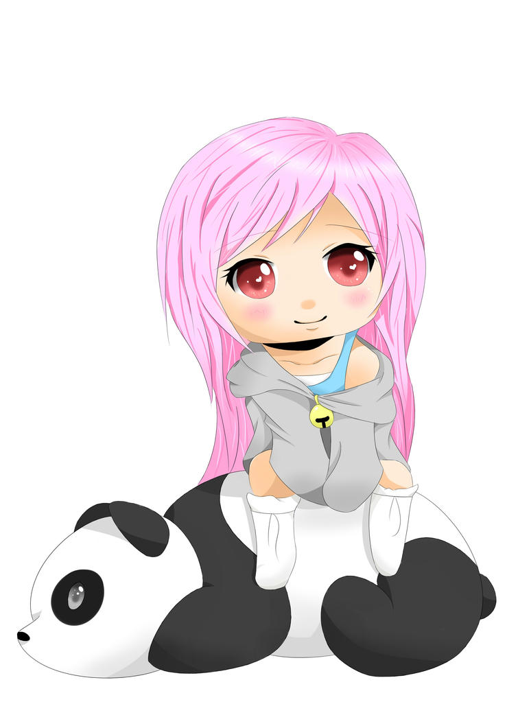 Chibi Panda Bear by Ha...