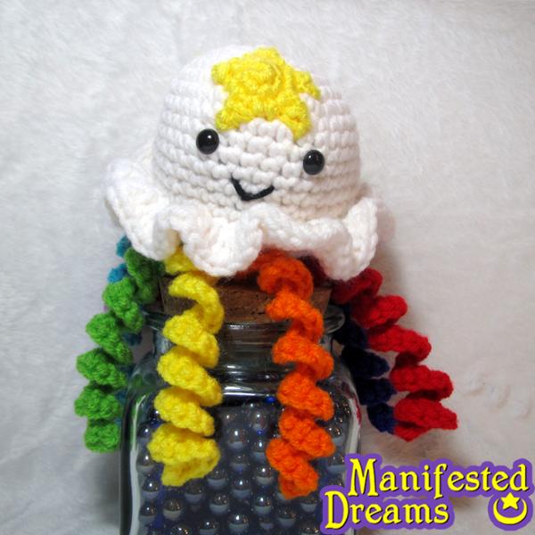 Rainbow Jellyfish by ManifestedDreams