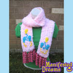 Pinkie Pie inspired Cosplay Scarf