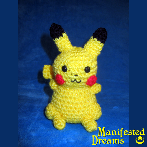 Amigurumi Pikachu Free Pattern : Pikachu Amigurumi by ManifestedDreams on DeviantArt