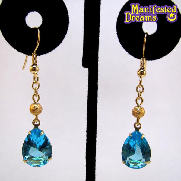 Mercury princess earrings by ManifestedDreams