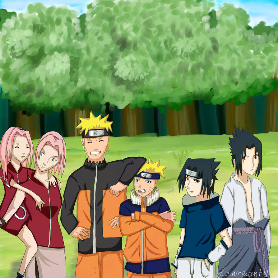 Naruto back from the past by lunamescent