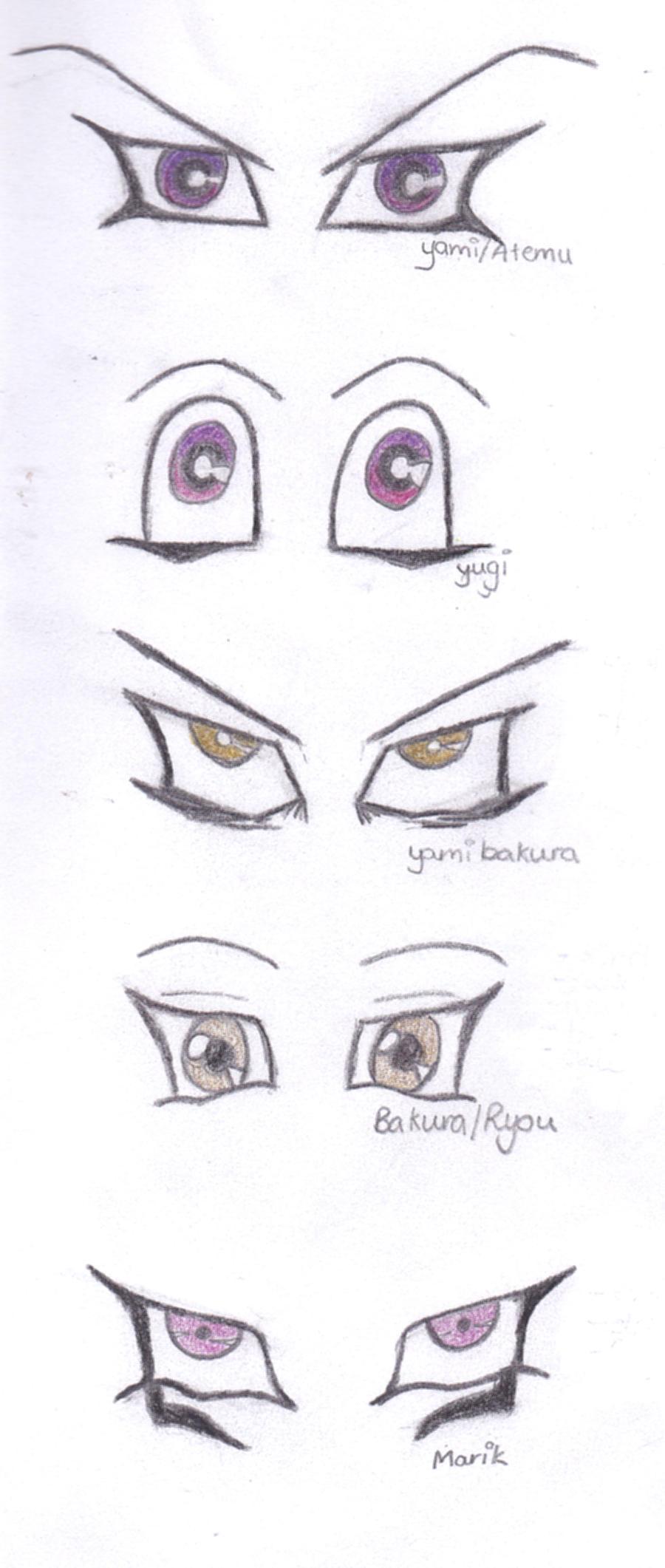 Yugioh Eye Study By Engracia Penthea