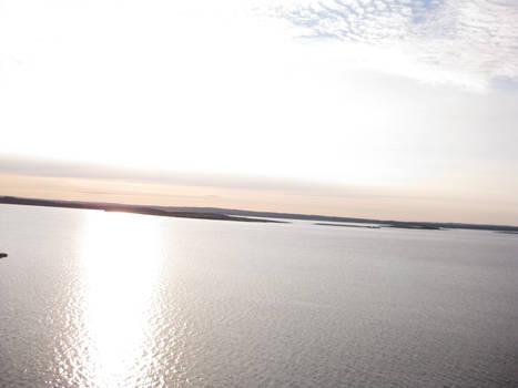 light silver sea