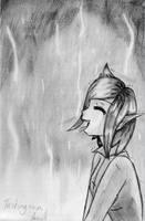 Tasting rain by Drayna