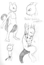 Mewtwo practice by Drayna
