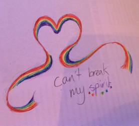 Can't break my spirit by Drayna