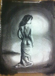 Nude Study : Pastel by Drayna