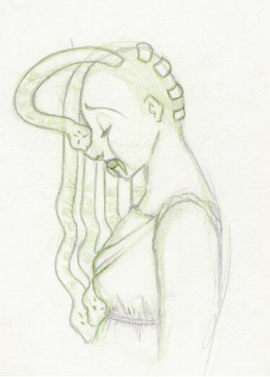 Medusa by quixoticschlemiel