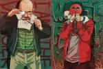 Heisenberg and Jesse Pinkman