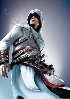 Assassins Creed Altair Vector