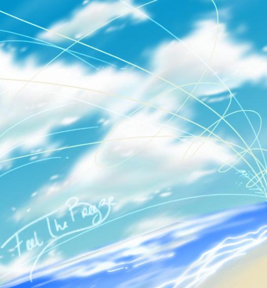 Cloud Study-feel the breeze by Awskitee