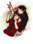 My bibi and me :D by Awskitee