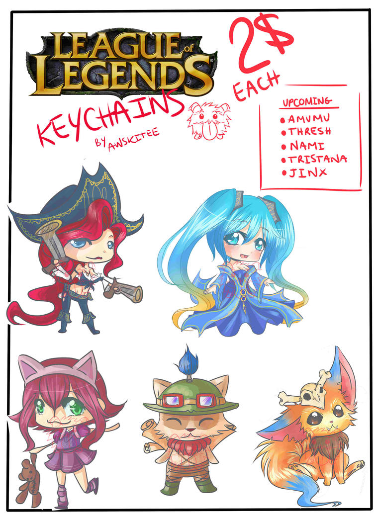 KEYCHAIN FOR SALE :D by Awskitee