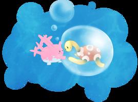 Bubble love by 8britt