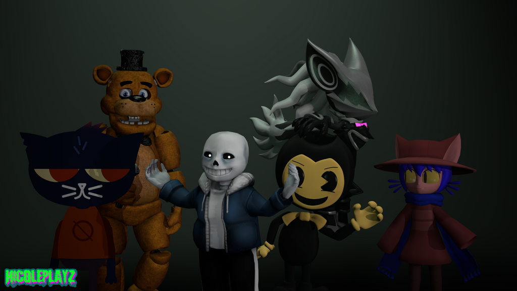 My Fandoms {SFM} by NicoleplayzArt