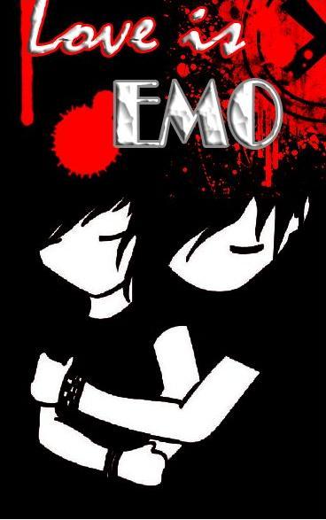 emo love cartoons cartoon. emo lovers cartoons. cartoon