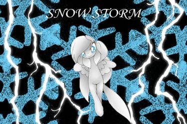 Snow storm tumblr BG pic by RYANBOSSXX