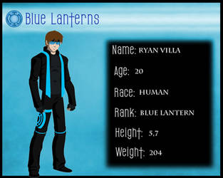 Blue Lantern Corps. ID Ryan Villa by RYANBOSSXX