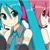 Vocaloid Triple Baka Miku and Teto Icon 01