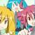 Vocaloid Triple Baka Neru, Miku and Teto Icon 02