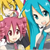 Vocaloid Triple Baka Neru, Miku and Teto Icon 03