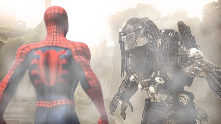 spiderman vs predator by giajoe23 on DeviantArt