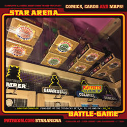 STARARENA TOY SETS.1and2