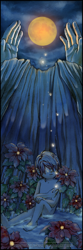 Bookmark: Under the Moon by yama30